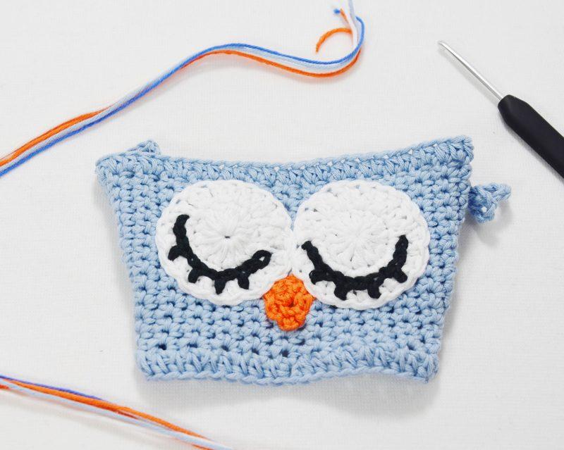 Taza Búho de Crochet, patrón tutorial paso a paso gratis