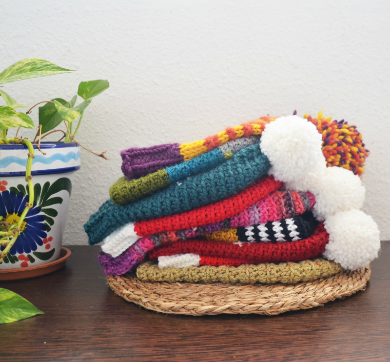 gorro de navidad estrella fair isle mamma do it yourself