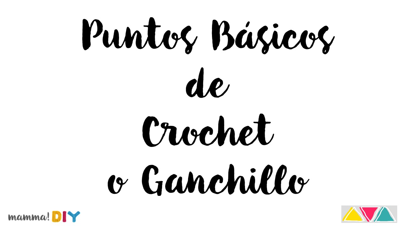 como tejer crochet ganchillo mamma do it yourself