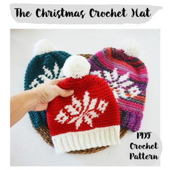 mamma do it yourself gorro navidad crochet
