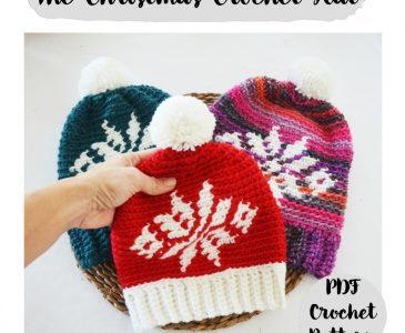 mamma do it yourself gorro navidad crochet