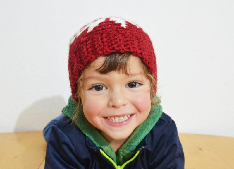 gorro de navidad a crochet mammadiy