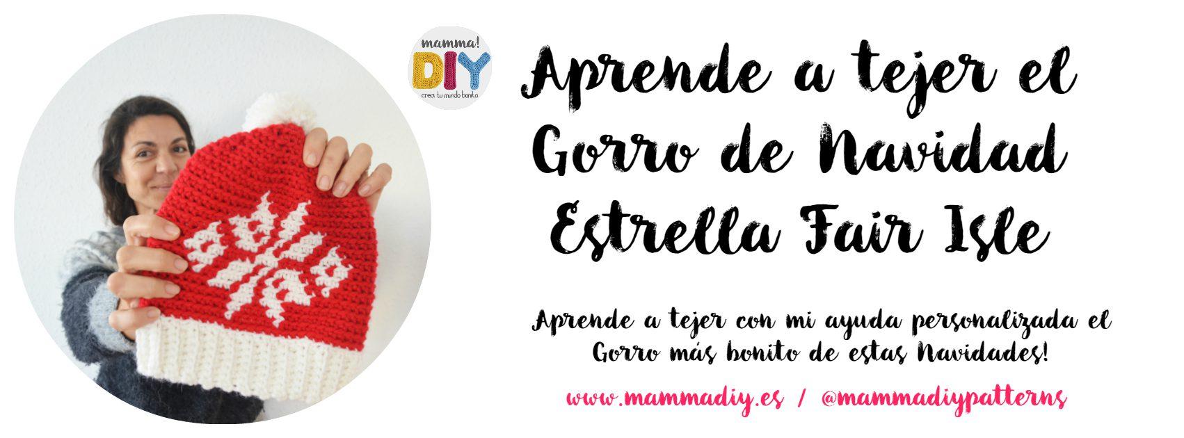El Gorro de Navidad a Crochet perfecto! - Mamma! Do It Yourself