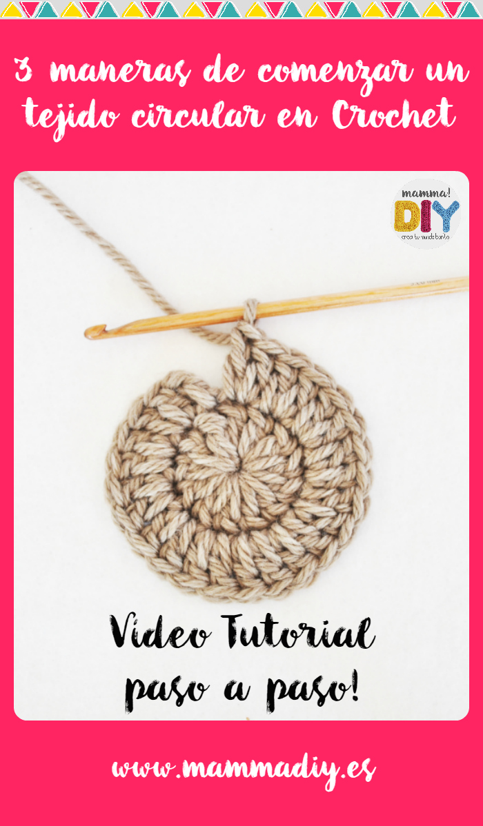 tejido circular crochet mamma do it yourself