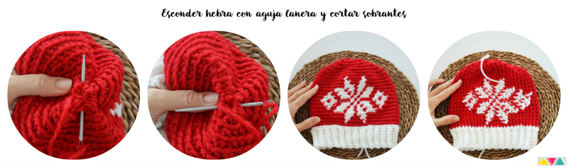 gorro y cuello paint katia por mamma do it yourself