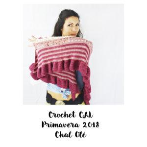 como tejer un chal en crochet