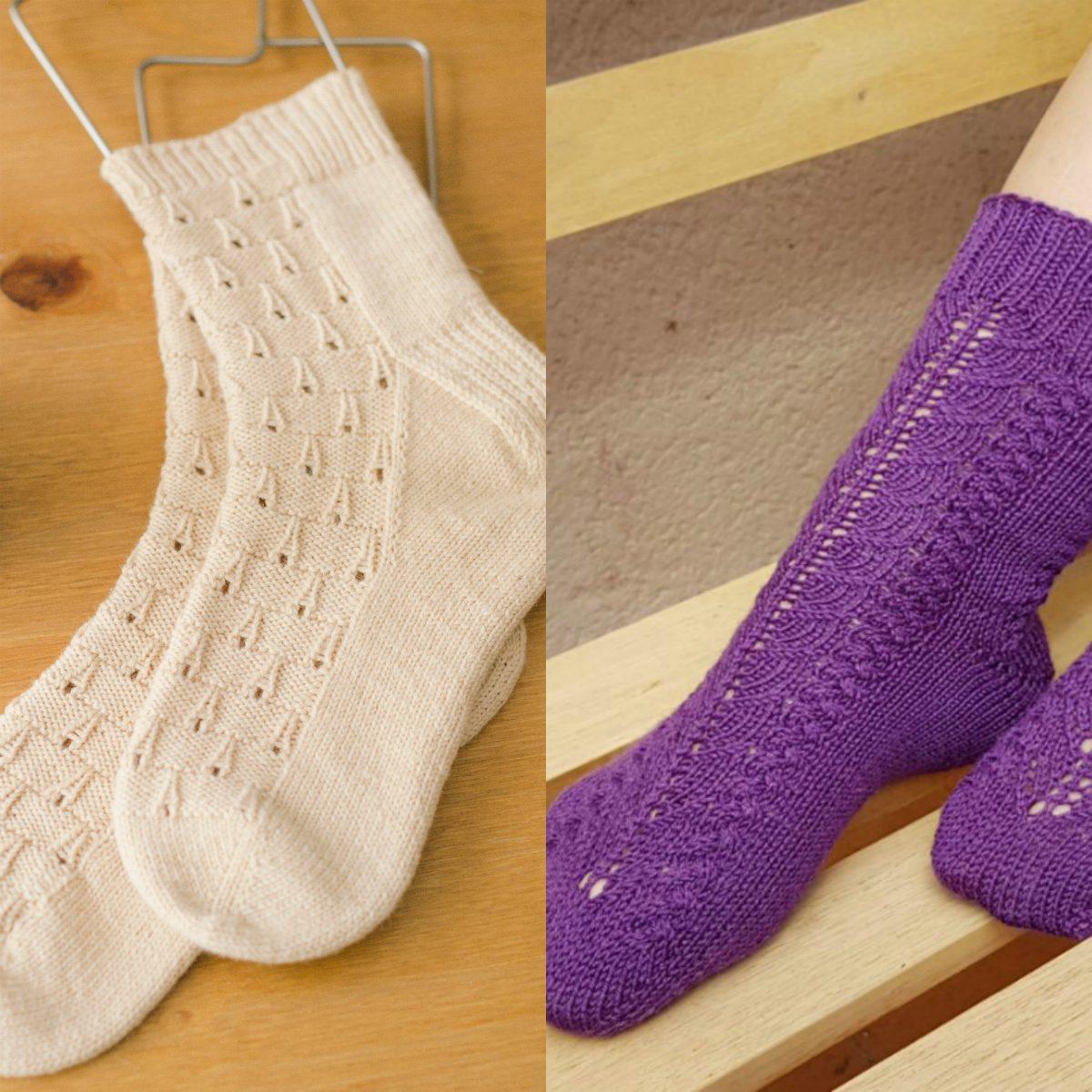calcetines circulares locura tejeril