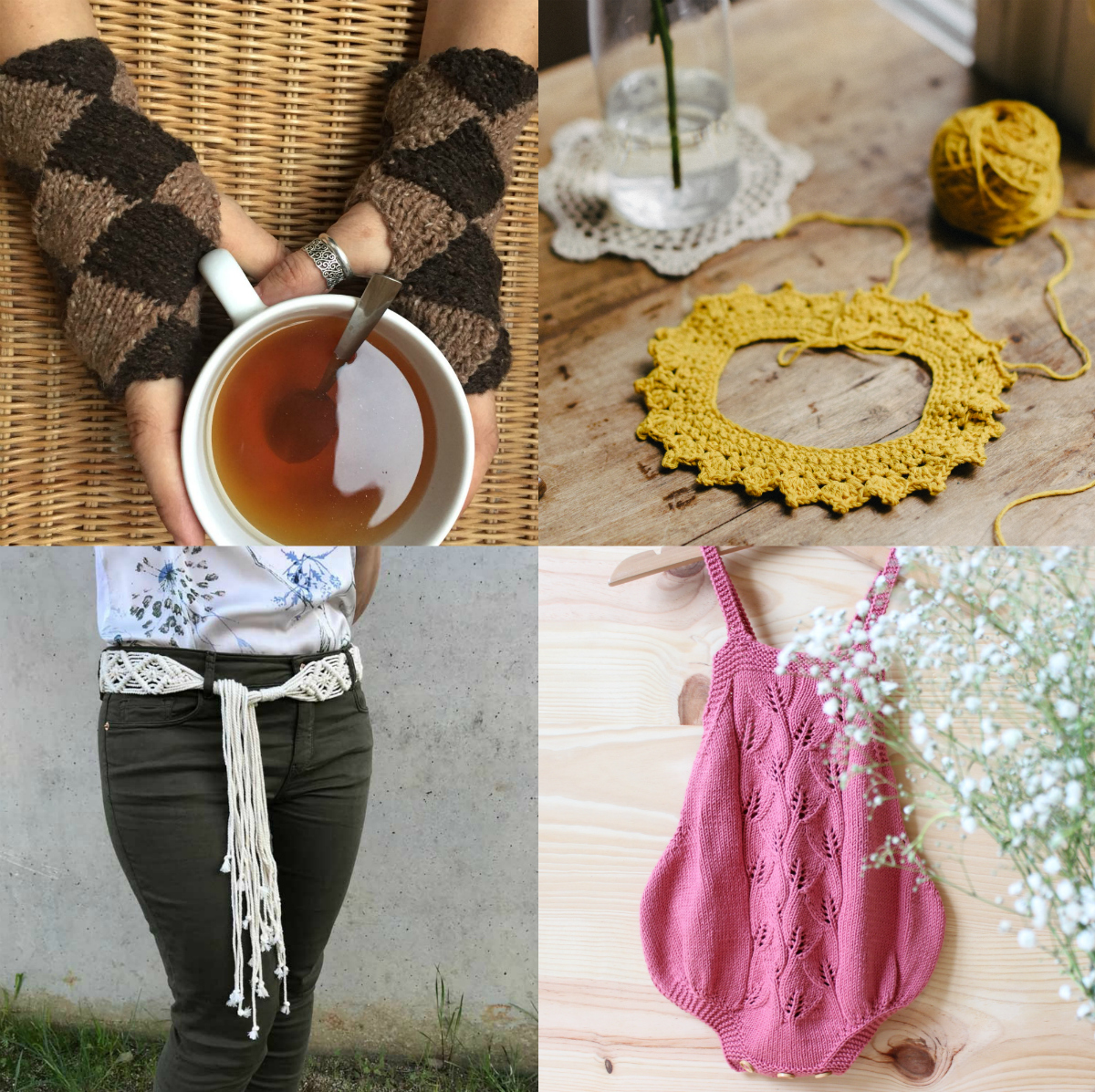 Locura Tejeril, recopilación de patrones de Crochet y Calceta en español