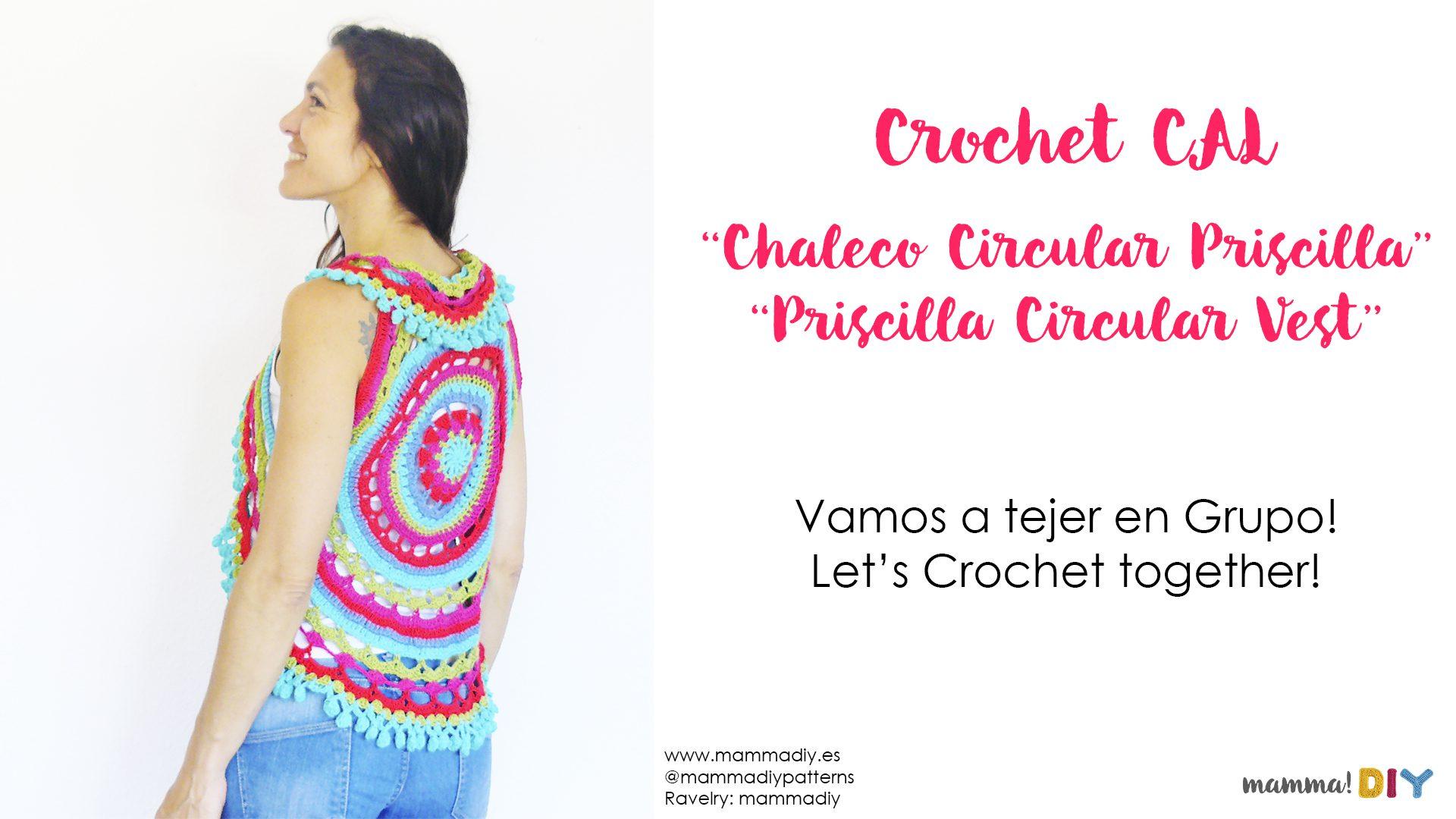 crochet cal priscilla circular vest by mammadiypatterns