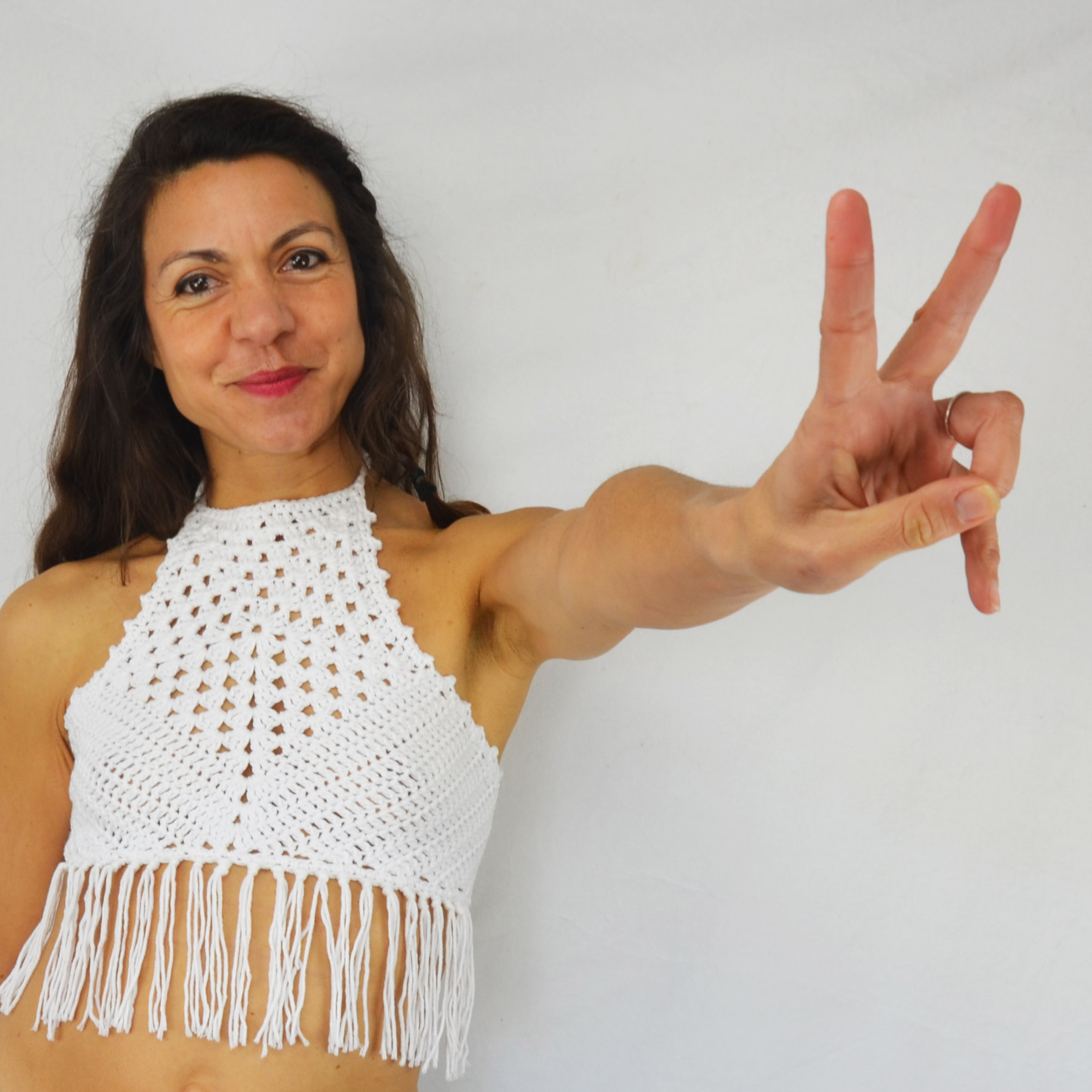 The Summer Crochet Top Patrón Gratis - Mamma! Do It Yourself