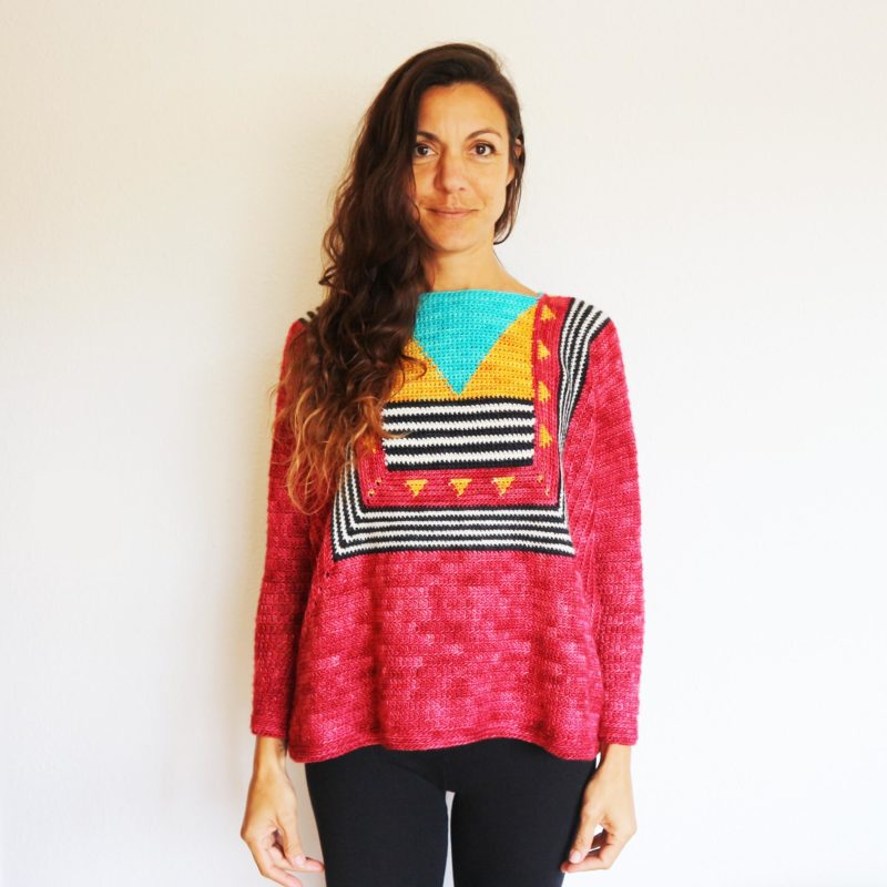 Coco Boxy Sweater by Cecilia Losada