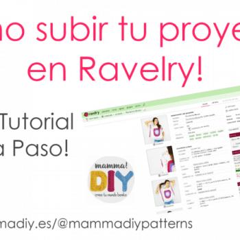 cómo subir un proyecto en Ravelry mammadiypatterns