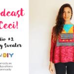 el podcast de ceci coco boxy sweater