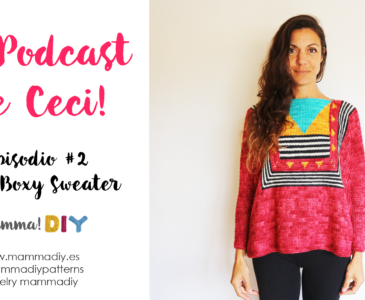 el podcast de ceci coco boxy sweater