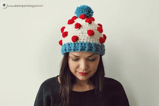 8 gorros para tejer crochet en español mammadiypatterns