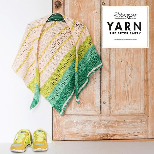 10 chales para tejer en español en crochet y tricot