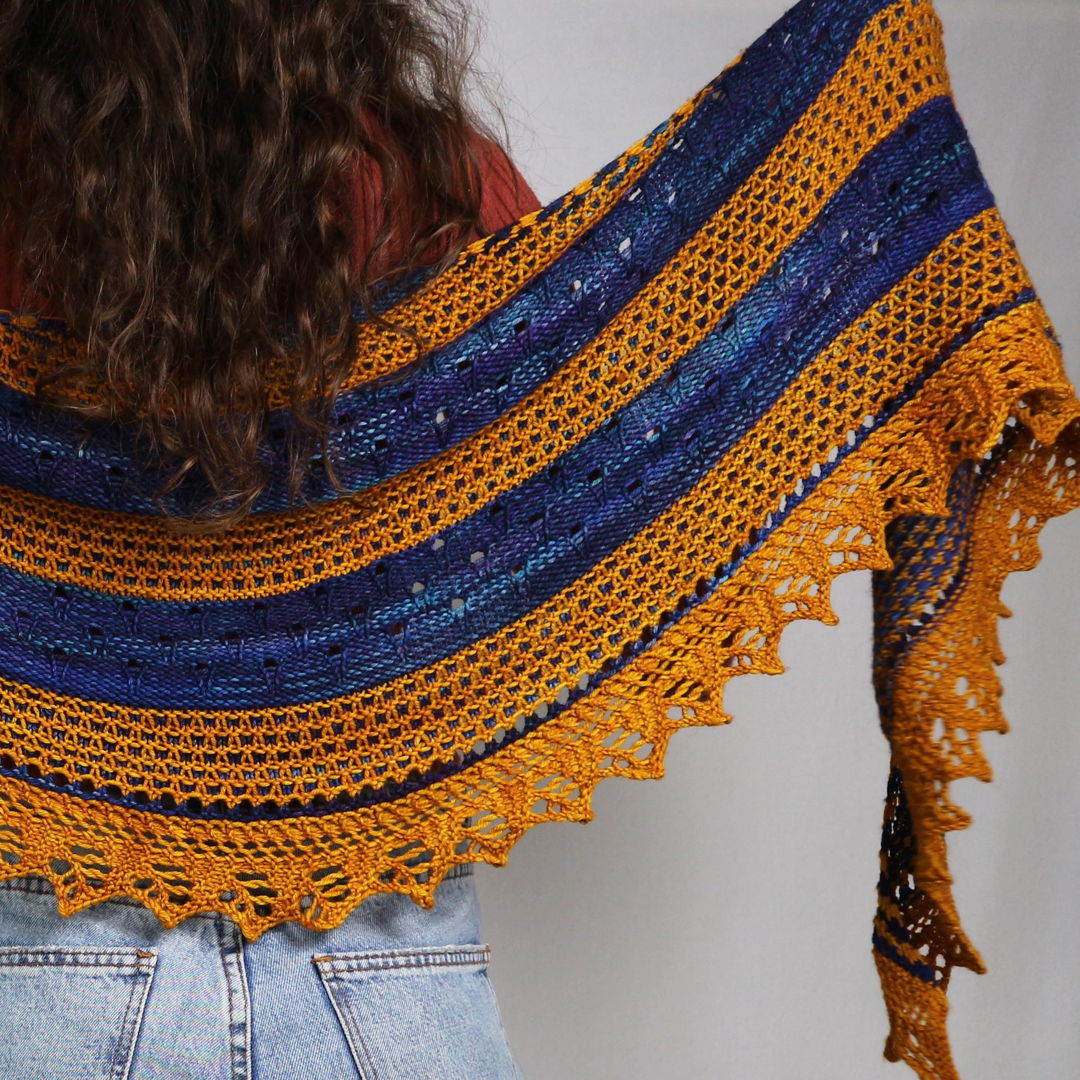 Earth Shawl by Cecilia Losada
