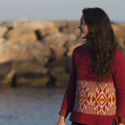 Abya Yala Crochet Sweater by Cecilia Losada