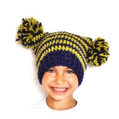 8 gorros para tejer a crochet