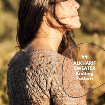 sweater con canesu circular