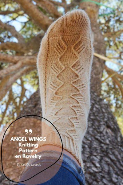 como tejer calcetines a dos agujas