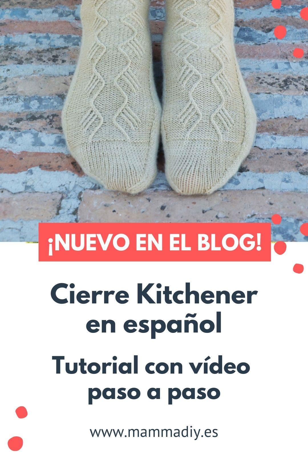 kitchener stitch en español video tutorial