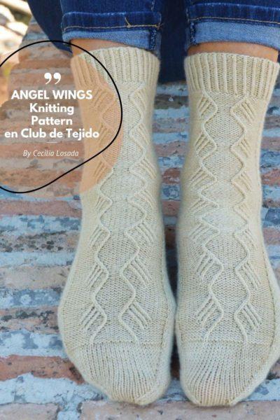 calcetines con agujas circulares por cecilia losada