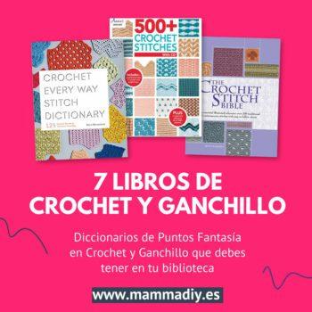 libros de crochet y ganchillo