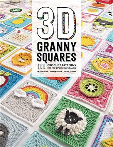 libro granny squares 3d
