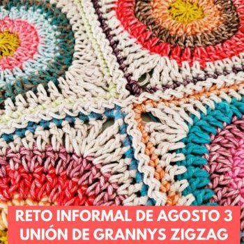 costura zigzag en crochet