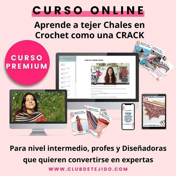 Construcción de Chales en Crochet Curso Online